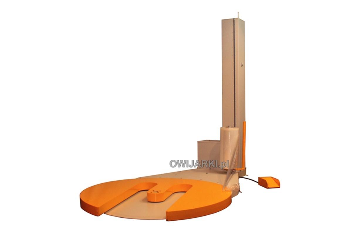 Owijarka do palet WS 0011N Paleciarka do folii stretch i siatki elastycznej