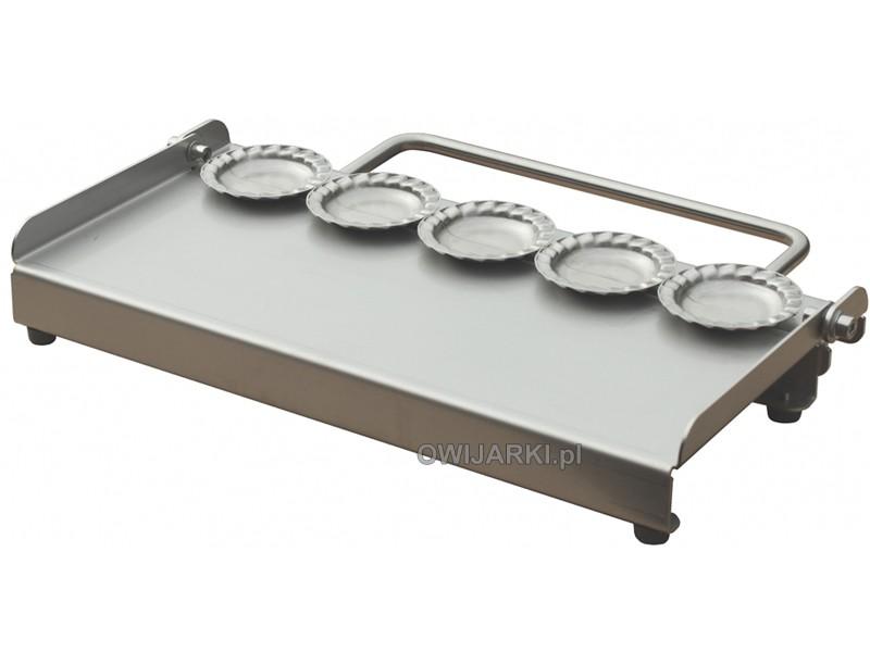 Pierogarka ręczna 83mm z falbanką do pierogów ze stali kwasoodpornej catering
